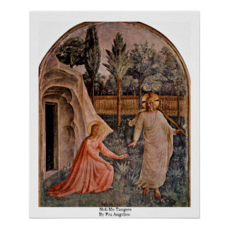 Noli Me Tangere By Fra Angelico Print