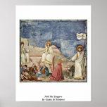 Noli Me Tangere By Giotto Di Bondone Poster