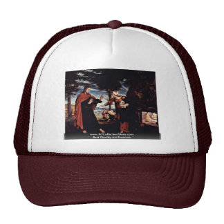 Noli Me Tangere By Hans Holbein The Younger Mesh Hats