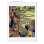 Noli Me Tangere By Hans Memling Card