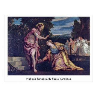 Noli Me Tangere, By Paolo Veronese Postcard