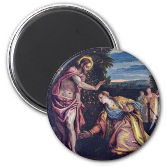 Noli Me Tangere By Veronese Paolo (Best Quality) 2 Inch Round Magnet