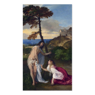 Noli me Tangere - Titian Business Cards
