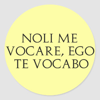Noli Me Vocare Stickers
