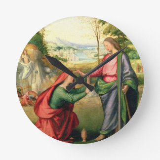 Noli yo Tangere, c.1508 (aceite en lona) Reloj Redondo Mediano