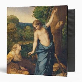 """Noli yo Tangere, c.1534 (aceite en lona) (para el Carpeta 1 1/2"""""""