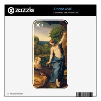 Noli yo Tangere, c.1534 (aceite en lona) (para el  Calcomanías Para El iPhone 4