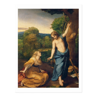 Noli yo Tangere, c.1534 (aceite en lona) (para el  Postal