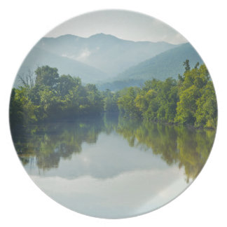 Nolichucky River in East Tennessee Party Plates