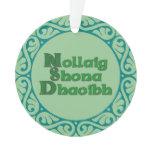 Nollaig Shona Dhaoibh - Irish Christmas Decoration