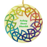 Nollaig Shona Dhaoibh - Irish Christmas Ornament