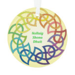 Nollaig Shona Dhuit - Irish Christmas Decoration