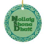 Nollaig Shona Dhuit - Irish Christmas Ornament