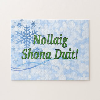 ¡Nollaig Shona Duit! Felices Navidad en gf Puzzle