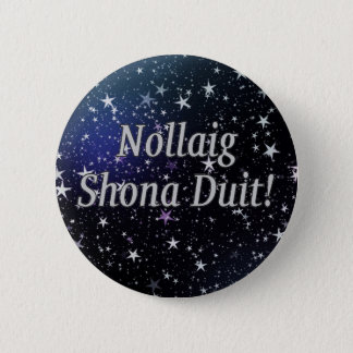 Nollaig Shona Duit! Merry Christmas in Irish wf Button