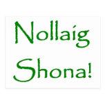 Nollaig Shona Postcard