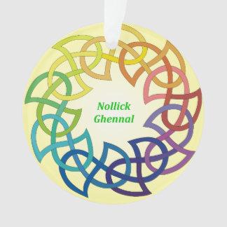 Nollick Ghennal - decoración de la Isla de Man del
