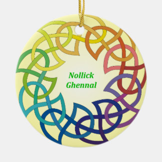 Nollick Ghennal - ornamento de la Isla de Man del Ornamento De Reyes Magos