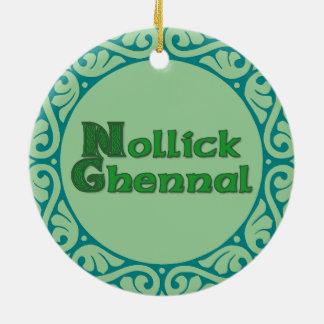 Nollick Ghennal - ornamento de la Isla de Man del Adorno De Reyes