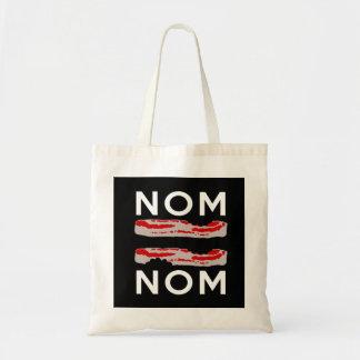 Nom Bacon Bacon Nom Tote Bag