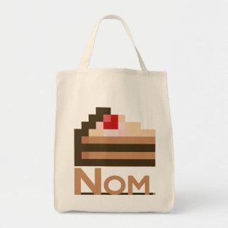 Nom. /bolsos de 8 bits de la torta bolsas de mano
