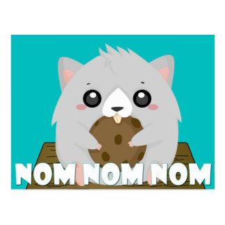 Nom Hamster Postcard