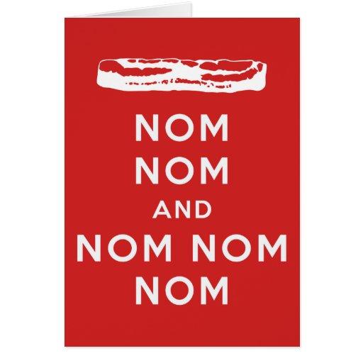 Nom Nom and Nom Nom Nom Greeting Cards