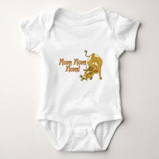 Nom Nom Cow Baby Bodysuit