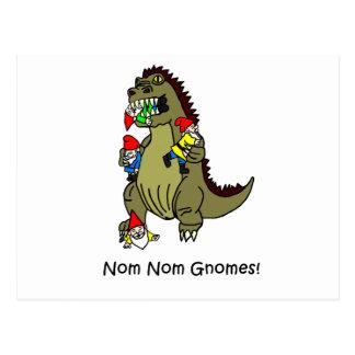 Nom Nom Gnome Postcard