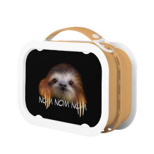 Nom Nom Nom Baby Sloth Lunchbox at Zazzle