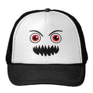 Nom Nom Nom Face Trucker Hat