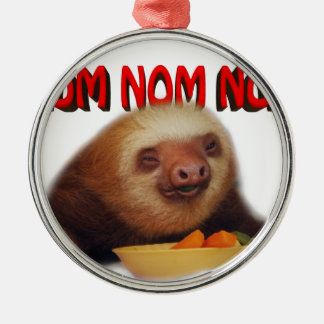 nom nom nom metal ornament