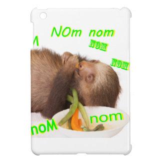 nom nom nom sloth iPad mini cover