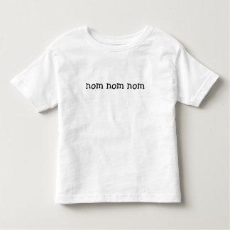 nom nom nom toddler t-shirt