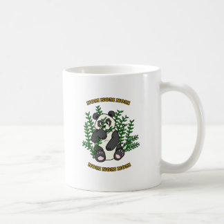 Nom Nom Panda Classic White Coffee Mug