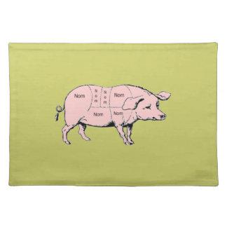 Nom Pig Placemat