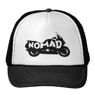 Nomad Motorcycle Trucker Hat