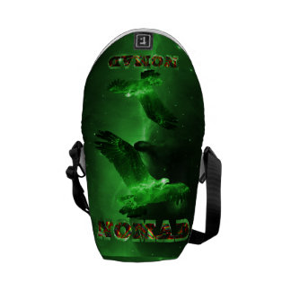 Nomad Space Eagle Nebula Courier Bags