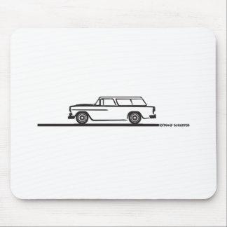 Nómada 1955 de Chevy Alfombrillas De Raton