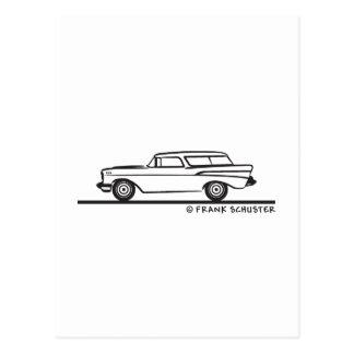 Nómada 1957 de Chevrolet Tarjeta Postal