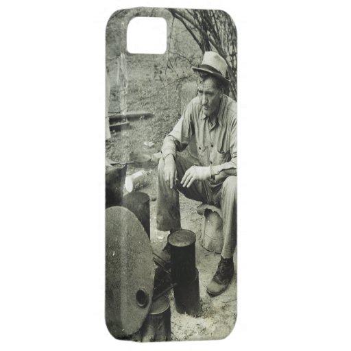 Nómada en la hoguera - 1939. iPhone 5 Case-Mate protectores