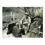 Nómada en la hoguera - 1939. postal