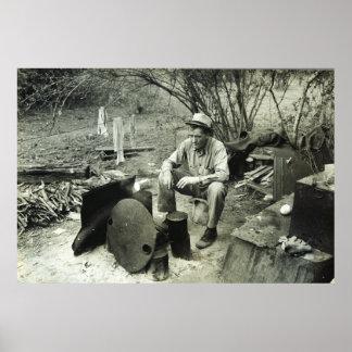 Nómada en Tejas, 1939 Póster