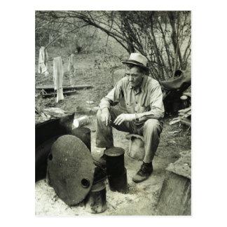 Nómada en Tejas, 1939 Tarjeta Postal