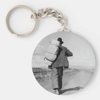 Nómada que camina - 1935 llaveros personalizados