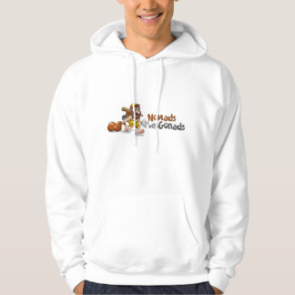 Nómadas encapuchados con la camiseta de las suéter con capucha