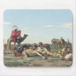 Nomads in the Desert, 1861 Mouse Pad