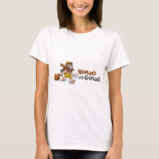 Nomads with Gonads standard T-Shirt
