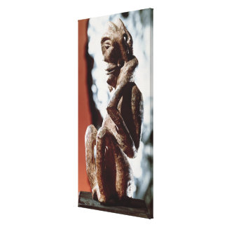 Nomali figure of the Mende tribe Gallery Wrapped Canvas