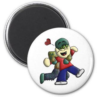 NOMbie Gear 2 Inch Round Magnet